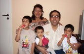 Mili y familia
